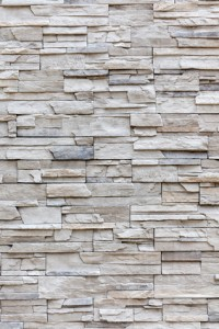 Exterior grey brick wall, background wall pattern.